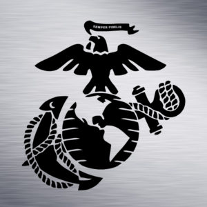 Custom Engraving 2″x 2″ Custom Engraving- Semper Fi engraving