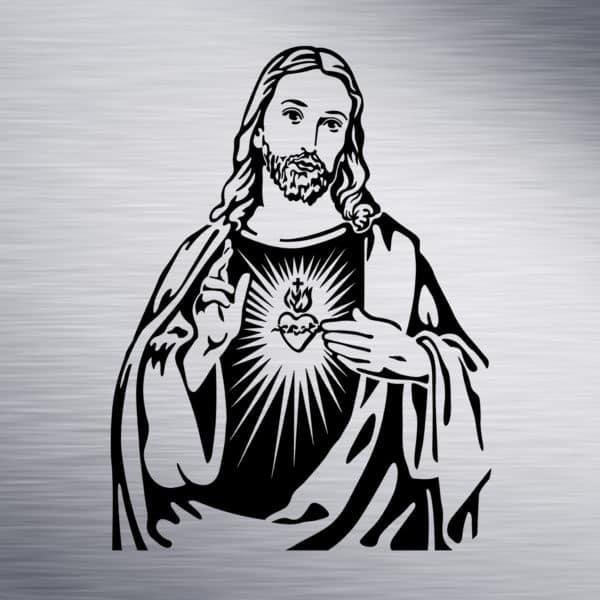 Jesus Engraving Design