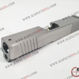 Glock Slide with Front and Rear Serrations