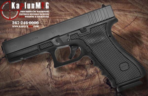 Glock 17 T13 Laser Stippling