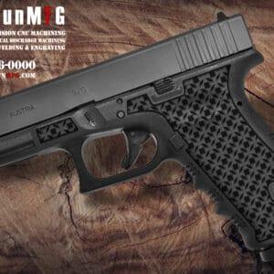 Glock 17 Stippling Laser Stippling Glock 17 Frame T23 Pattern glock