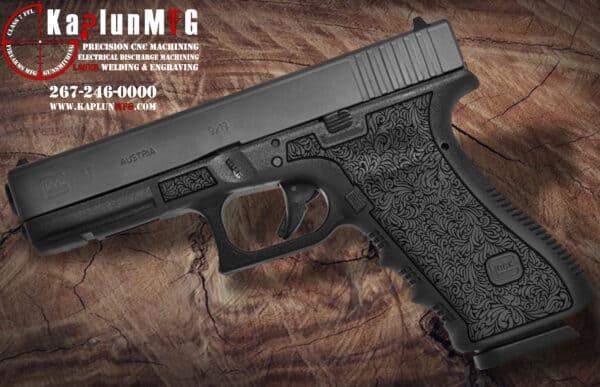 Glock 17 L26 Laser Stippling