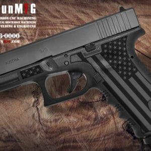 Glock 17 Stippling Laser Stippling Glock 17 Frame T27 Pattern glock