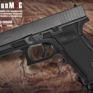 Glock 17 Stippling Laser Stippling Glock 17 Frame T3 Pattern glock