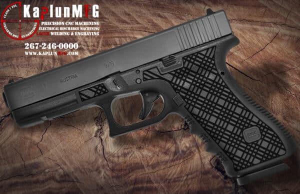 Glock 17 Laser Stippling T7 Pattern