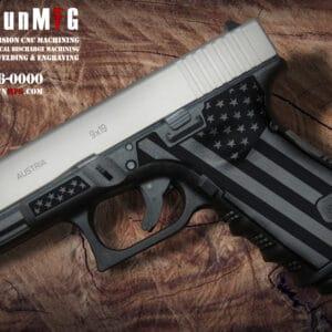 Glock 19 Stippling Laser Stippling Glock 19 Frame T27 Pattern glock
