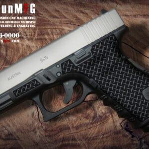 Glock 19 Stippling Laser Stippling Glock 19 Frame T28 Pattern glock