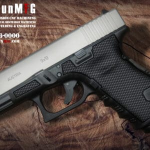 Glock 19 Stippling Laser Stippling Glock 19 Frame T3 Pattern glock