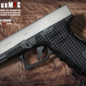 Glock 19 Stippling Laser Stippling Glock 19 Frame T4 Pattern glock