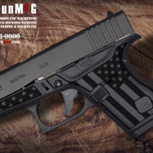 Glock 43 Stippling Laser Stippling Glock 43 Frame T27 Pattern glock